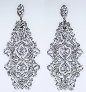 Tall Arabasque Earrings