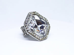 Shine Square Ring, Crystal