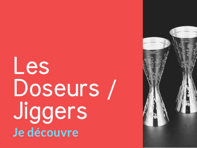 Collection Jiggers et doseurs à cocktails