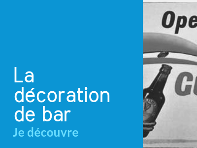 Décoration de bar Cocktails