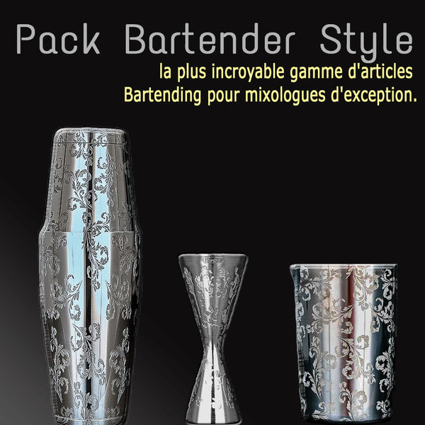 Gamme Barware Mixologie Bartender Style By France Cocktail