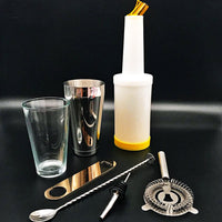 Kit cocktail Bartender complet sur fond noir