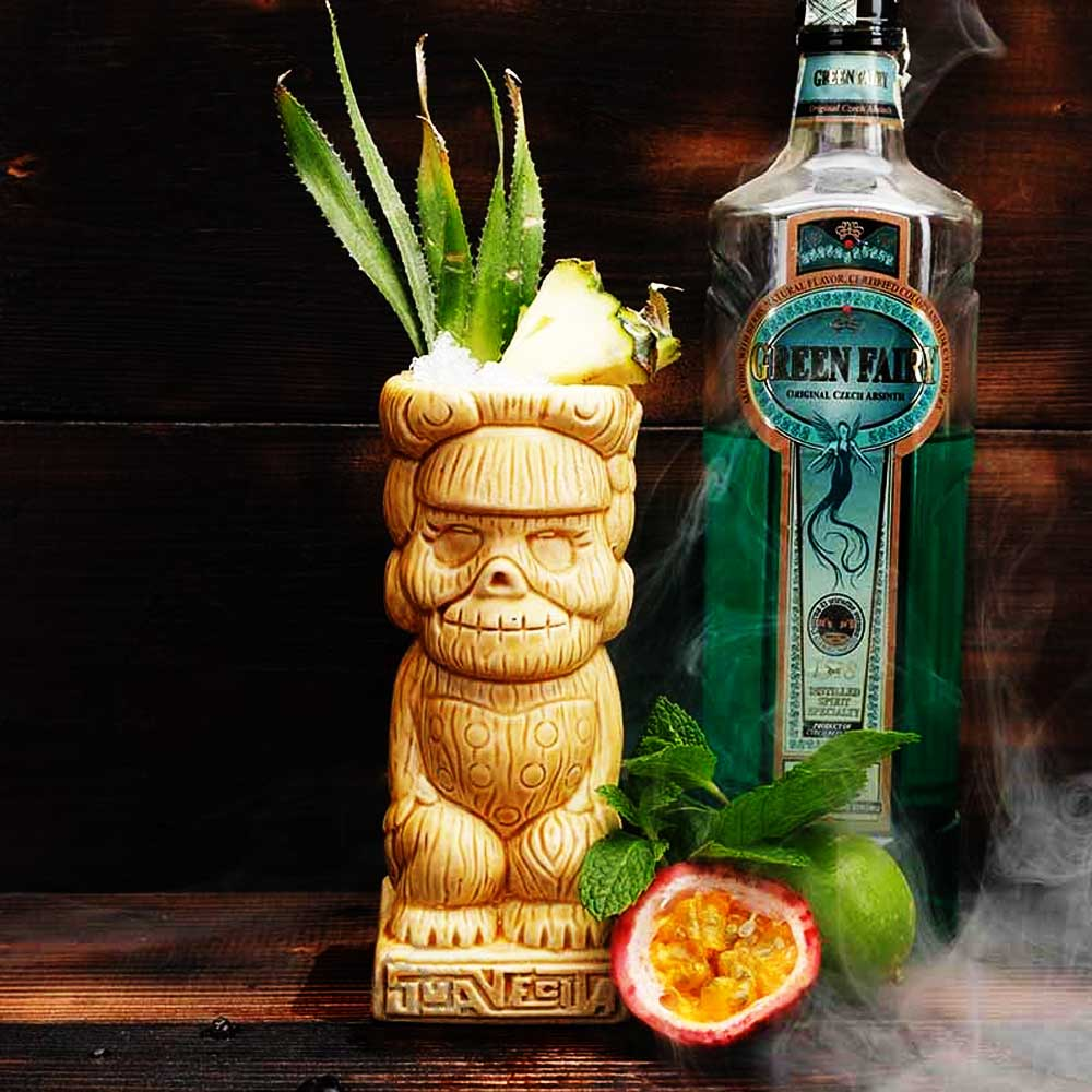 Cocktail Tiki Mug