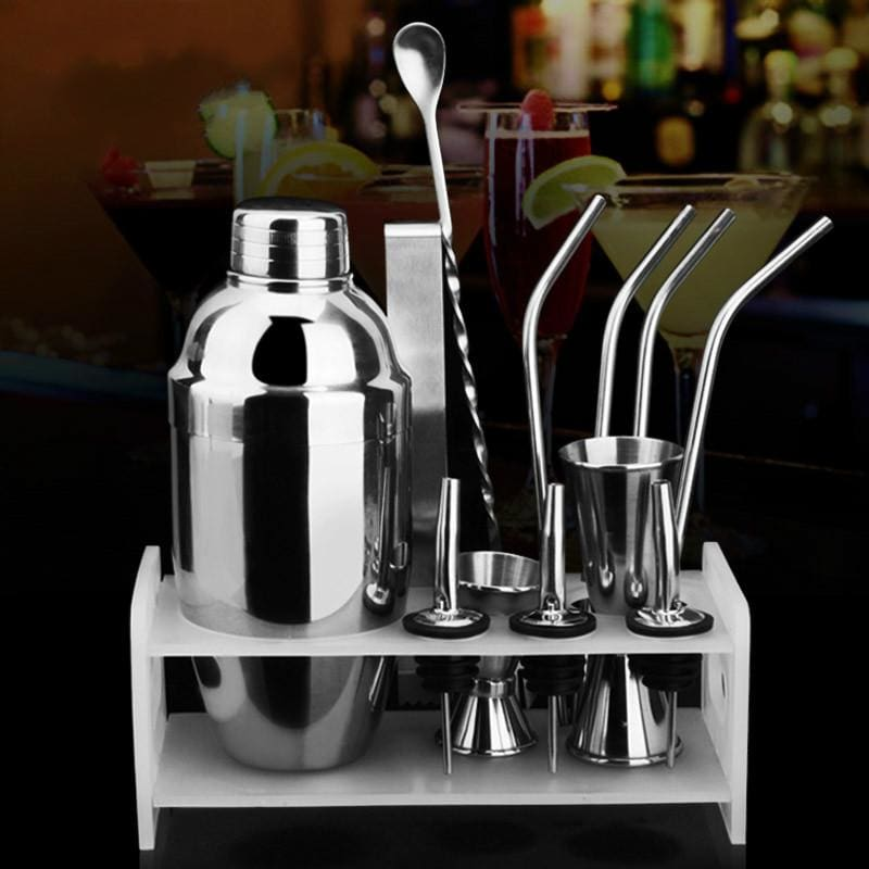 Set Complet En Acier Inoxydable 350 Ou 500 Ml - Set Cocktail