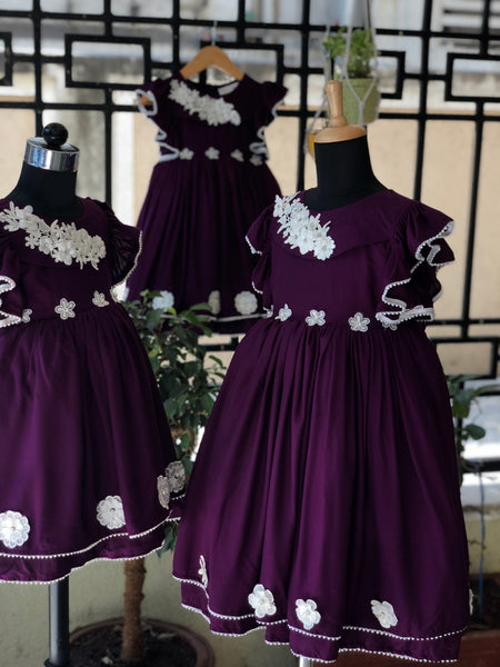 Pearly Purple - Party Dress