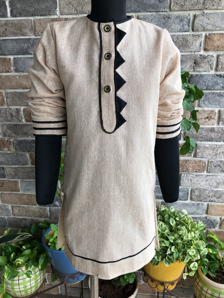 Rustic Raw Kurta - Boy Child