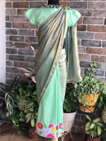 Dream Girl - Florescence Stitched Saree