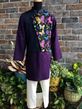 Purple Passion Bandi-Kurta  - Boy Child