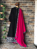 Flower Family - Girl Child (Long Dress with Dupatta)