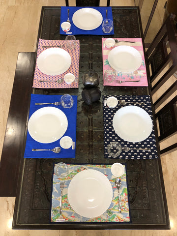 Zero-Waste Table Mats