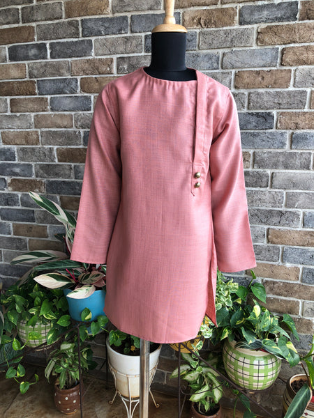 Dusty Pink Kurta - Boy Child