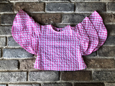 Checkered Pink - Top