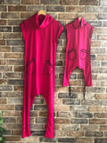 Think Pink Jumpsuit - Twinning for mommy & daughter