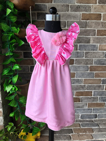 Puggy Pink - Short Dress