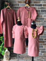 Dusty Pink Kurta - Mommy