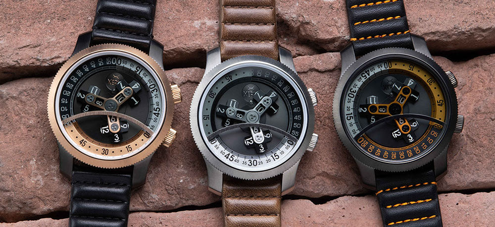 Xeric Vendetta Automatic Wandering Hour Watches