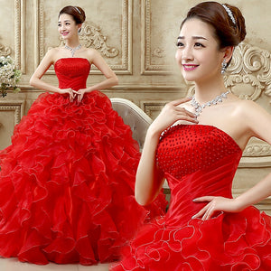 Ruched Strapless Quinceanera Dress With Beaded Bodice Vestido 16 Anos Vestido De Debutante