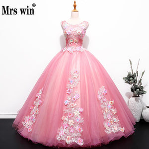 Quinceanera Dress 2018 New Mrs Win The Luxury Party Prom Formal Ball Gown Sweet Quinceanera Dresses Vestidos De 16 Anos