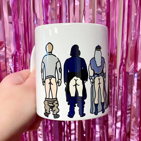 Harry Potter Staff Butts Mug
