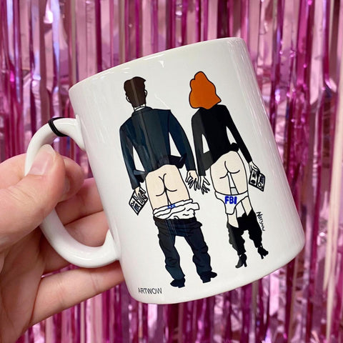 X-Files Butts Mug