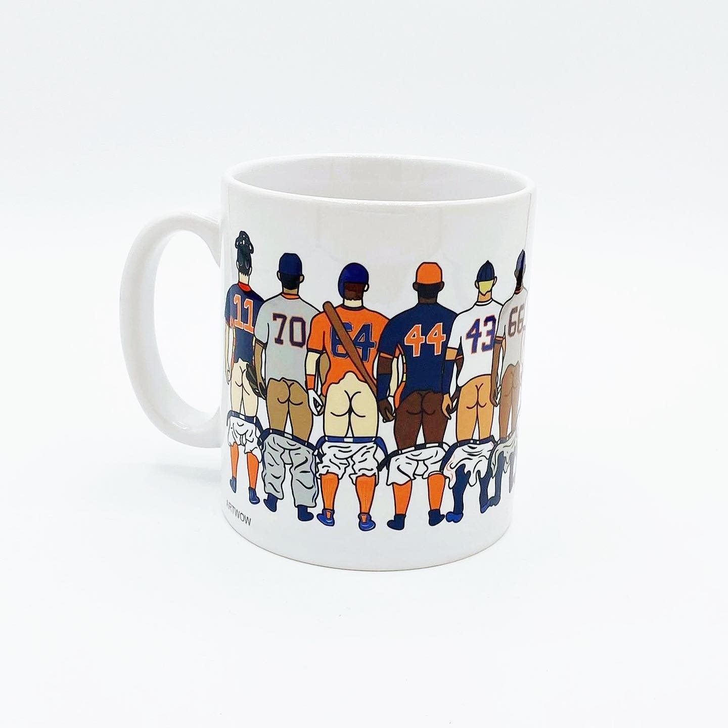 Baseball Butts Mug