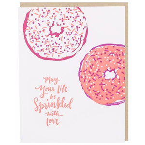 Sprinkled With Love Greeting Card