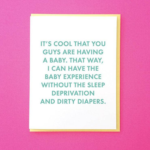 Having A Baby Greeting Card