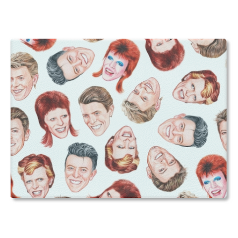 Faces Of Bowie Cutting Board