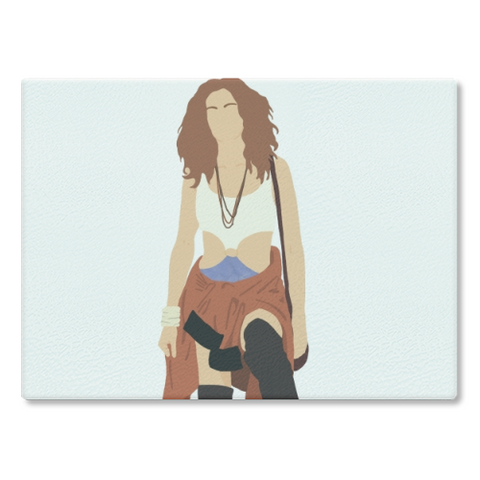 Pretty Woman Cutting Board