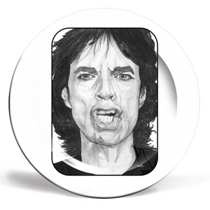 Mick Jagger Plate