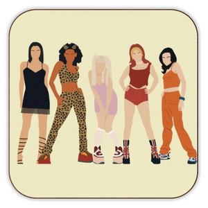 Spice Girls Coaster