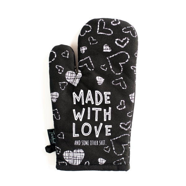 Made With Love Oven Mitt