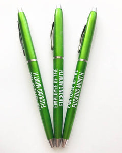 Employee Of The Month Pens