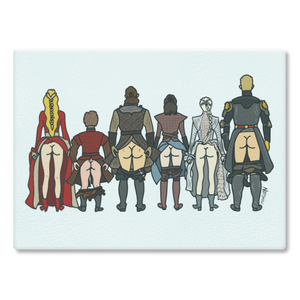 Game Of Thrones Butts Cutting Board