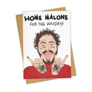 Home Malone Holiday Greeting Card