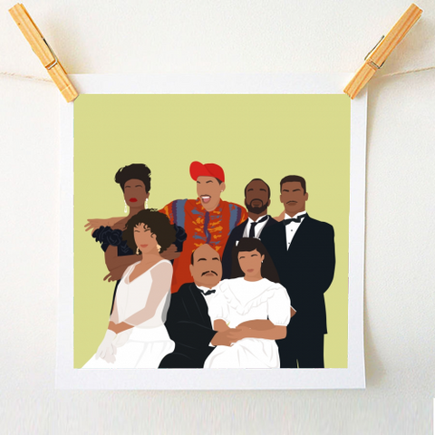 Fresh Prince Of Bel-Air 10x10 Print