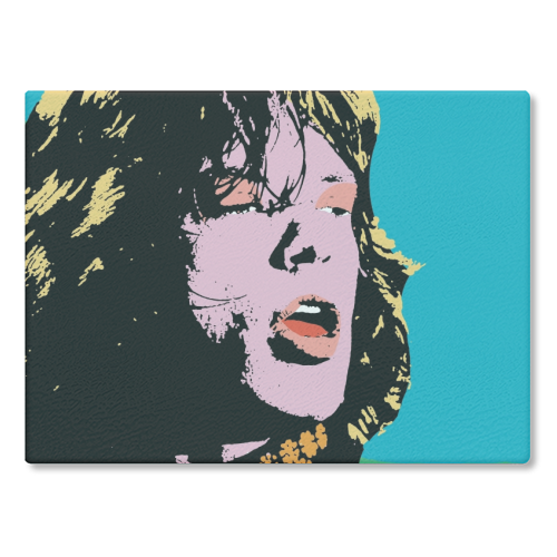 Mick Jagger Cutting Board