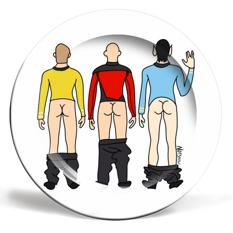 Star Trek Butts Plate