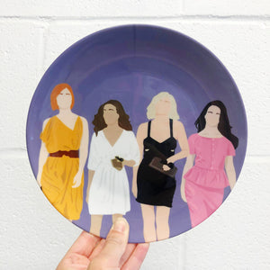 Sex And The City Plate