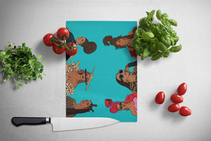 Black Is King Cutting Board