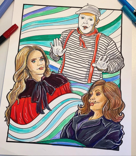 The Best Of The Housewives Coloring Book