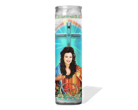 Fran Drescher Prayer Candle