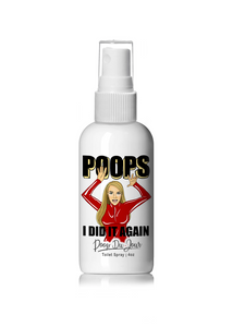 Poops I Did It Again Toilet Spray