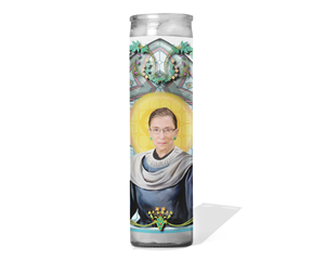 Ruth Bader Ginsburg Prayer Candle