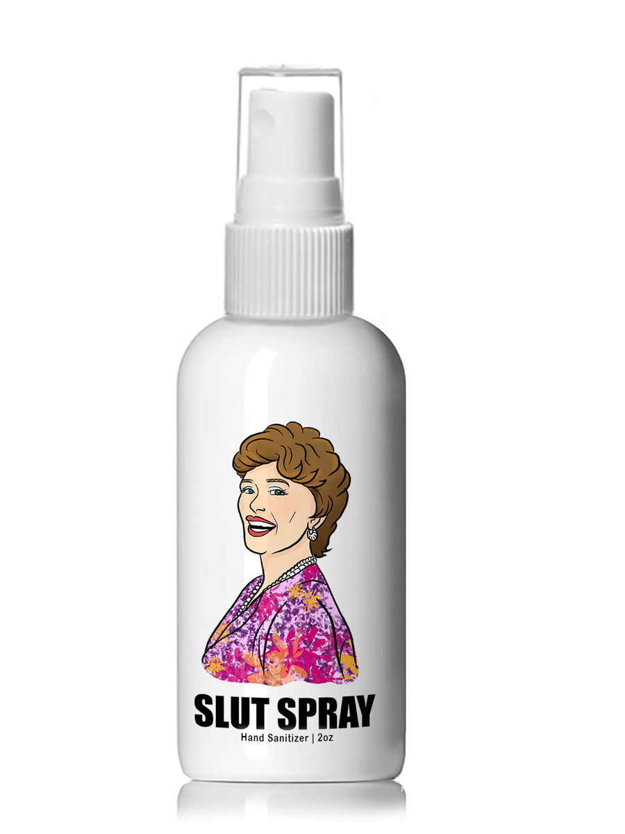Slut Spray Hand Sanitizer