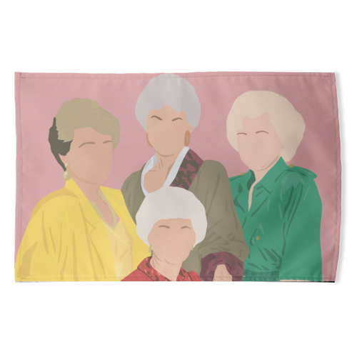 Golden Girls Tea Towel