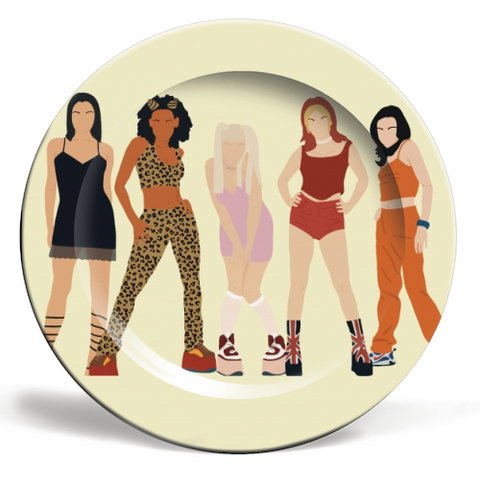 Spice Girls Plate