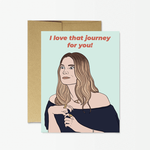 Love That Journey For You Greeting Card