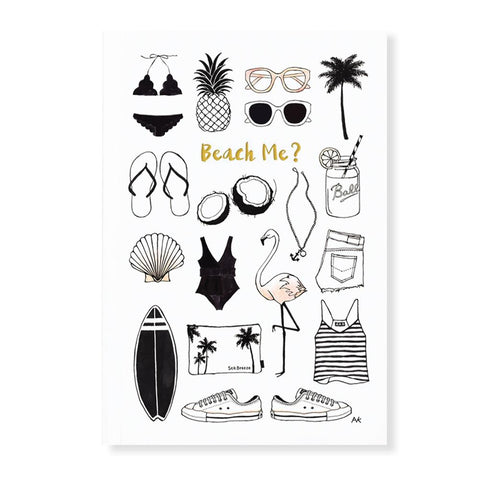 Beach Me Journal