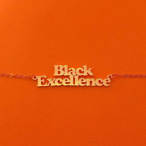 Black Excellence Necklace